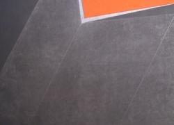geometrizacija 1, kombinovana tehnika na platnu 2010, 154x100 cm