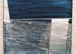 rhythmics 1, 2005, aluminium, acryl, 33x24 cm, polyptych 15 pieces