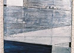 rhythmics 2, 2005, aluminium, acryl, 33x24 cm, polyptych 15 pieces