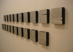 rhythmics, 2007, 18x15cm, polyptych 20 pieces