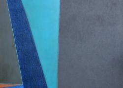 velika plava kompozicija 155x110